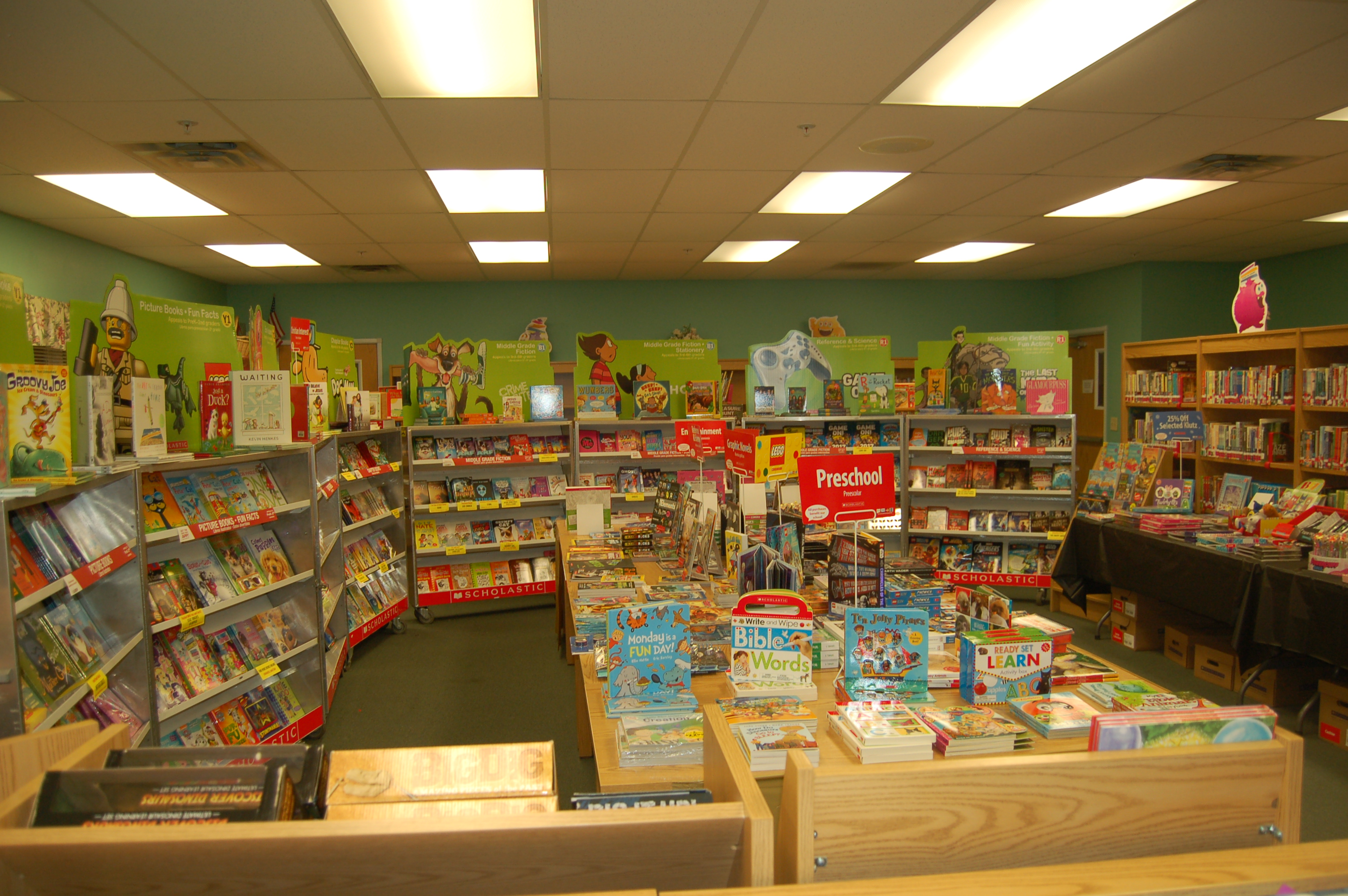 Thank You For Supporting Our Scholastic Book Fair Atlantic School