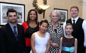 ACS Students with Ruth Graham at Legacy Gala 1A, 4-16-16