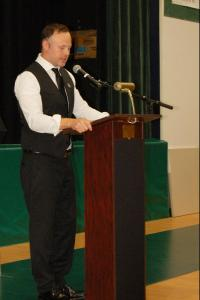 DSC 0036A - Kevin Bernat, Jr, Keynote speaker