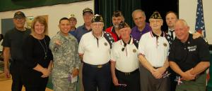 DSC 0052B - Group of veterans with Oblen and speakers, narrow crop