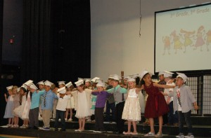 DSC 0102A - Arms around each other 1st grade song