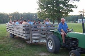 DSC 0269A - Wagon ride