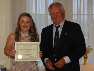 DSC 0377A - McCullough award - Brianna Lomangino