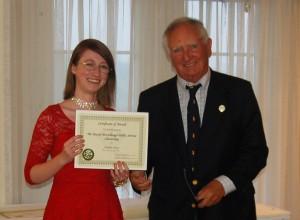 DSC 0380A - McCullough Award to Amelia Sray