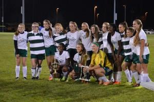 2016 Lady Cougars Varsity Soccer Championship Season