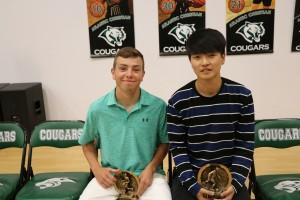 IMG 5047 - 2 Boys Soccer trophy winners