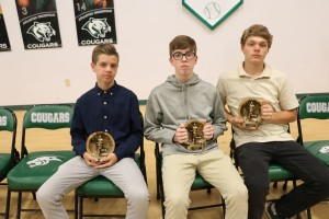 IMG 5049 - 3 BB JV Boys with trophies, Noble, OBrien, Chapman