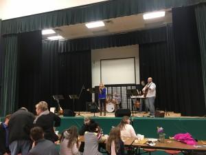 IMG 5412 - Kelly Flynn on stage