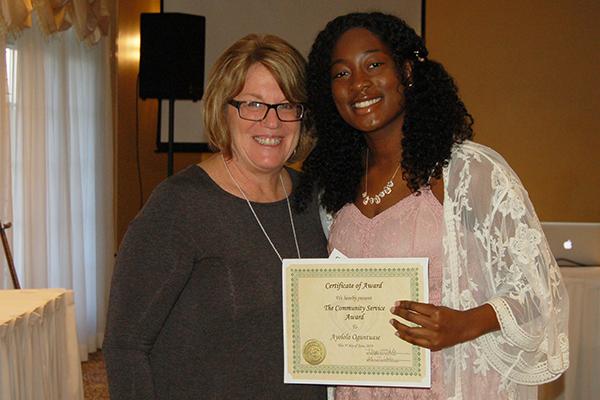 Saratoga President David Temple recognized as a 2008 ... |Christian Community Service Award